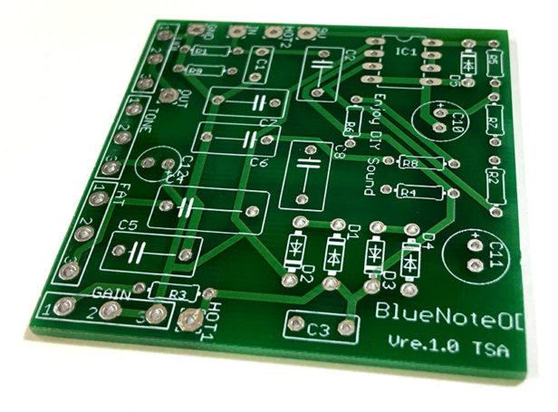 BlueNoteOverdrive風基板